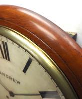 Antique Original Dial Wall Clock Rare Striking Station Public Dial Wall Clock (10 of 10)