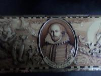 Rowntrees Pastille Tin Depicting Shakespeare and Scenes (2 of 6)