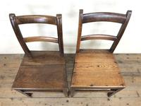 Two Antique Welsh Farmhouse Chairs (m-1255) (2 of 9)