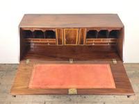 Antique George III Mahogany Bureau (18 of 25)