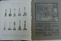 Brass Door Porter Brass Door Stop Antique Pearson Page c.1920 (7 of 8)