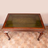 Superb Quality Mahogany Chippendale Design Writing Table (22 of 23)