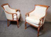 Pair of French Empire Style Armchairs (2 of 13)