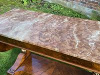 Burr Walnut Console Table (3 of 9)