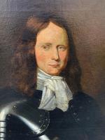 Huge Oil Portrait Painting of 17th Century General John Richmond Webb (6 of 16)
