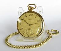 1930s Tempo Pocket Watch & Chain (4 of 4)