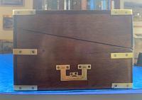 Georgian Brassbound Mahogany Writing Slope (6 of 24)