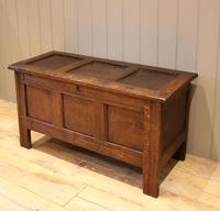 Original Late 17th Century Oak Coffer (3 of 11)