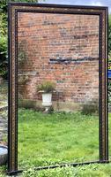 Very Large Ebonised & Gilt Mirror (6 of 7)