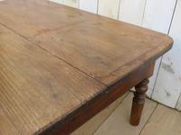Antique Oak & Pine Coffee Table (3 of 7)