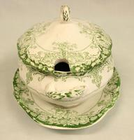Antique Sauce Tureen on Stand (3 of 6)