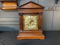 Victorian Mahogany Bracket Clock (3 of 3)