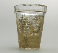 An Extremely Rare & Exceptional St Hubert Gilt Glass Beaker C.18th/early 19thc (3 of 10)
