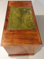 Fine George III Period Mahogany Kneehole Architects Desk (5 of 5)