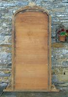 Large Antique French Arched Gilt Mirror of Unusual Size (8 of 8)