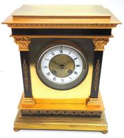 Wow! Amazing French Solid Ormolu Mantel Clock 8 Day Striking Mantle Clock (2 of 12)