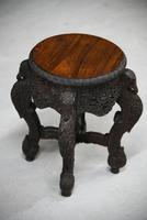 Anglo Indian Padouk Side Table (9 of 11)