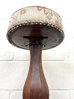 Antique Victorian Mahogany Piano Stool (8 of 10)