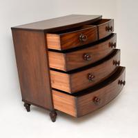 Antique Victorian  Mahogany  Chest of Drawers (5 of 10)