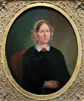 Fine Large Period 19th Century half-length Oil Portrait Painting of a Victorian Lady (2 of 12)