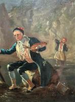 Late 18th Century 'British School' Original Oil Portrait Painting of a Shoreline Artist (4 of 12)