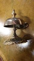 Late Victorian Brass Desk Bell (2 of 4)