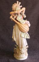 Impressive Large Antique Figure of Young Girl (4 of 28)