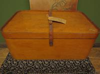 Antique Bentwood Plywood Storage Box by Luterma (4 of 16)