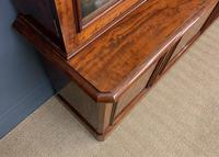 Fine Quality Figured Mahogany Library Bookcase (13 of 17)