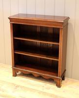 Edwardian Inlaid Mahogany Open Bookcase (4 of 8)