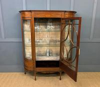 Maple & Co Inlaid Mahogany Display Cabinet (8 of 13)