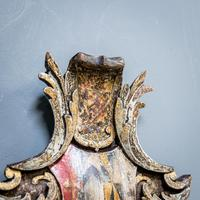 18th Century Painted Cartouche (5 of 9)