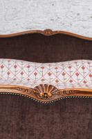 Louis XV Style Upholstered Super King Size Bed (7 of 8)