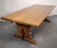 Large Oak Coffee Table (6 of 7)