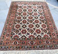 Fine Old Veramin rug 215x144cm (6 of 7)