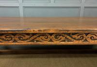 Large Oak Jacobean Revival Refectory Table (3 of 12)
