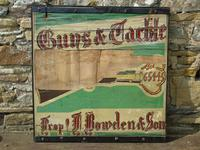 Advertising Sign 'Guns and Tackle' (5 of 6)