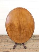 Antique Mahogany Centre Table (2 of 11)