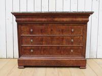 Antique French Marble Top Chest Of Drawers (11 of 12)