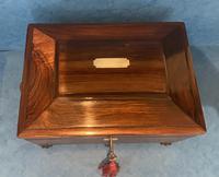 Regency Sarcophagus Rosewood Jewellery Box (12 of 15)