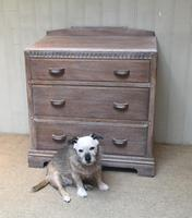 Limed Oak Chest of Drawers (3 of 9)