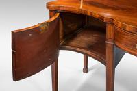 George III Period Serpentine Sideboard (8 of 8)