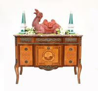 Scandinavian Commode Marquetry Chest of Drawers c.1920 (2 of 15)