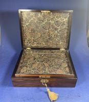 Victorian Walnut Jewellery Box (5 of 13)