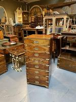 Colonial Campaign Chest of Drawers (8 of 10)