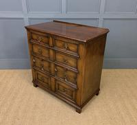 Oak Jacobean Style Chest of Drawers (3 of 13)