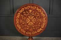 18th Century Dutch Marquetry Inlaid Occasional Table (5 of 14)