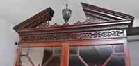 Superb Quality 18th Century Mahogany Bureau Bookcase (14 of 23)