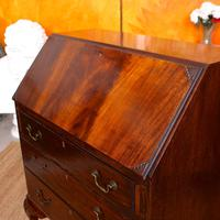 Edwardian Mahogany Bureau Writing Desk (8 of 9)