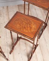 Edwardian Mahogany Nest of Tables (4 of 7)